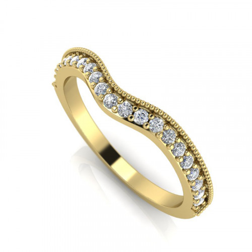 Curve Shape Ring