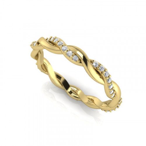 Platted Eternity Band